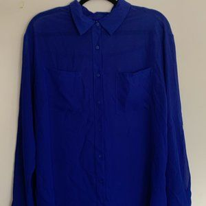 Decree (JC Penney) - Blue blouse